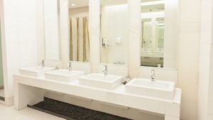 Commercial bathroom design 2021